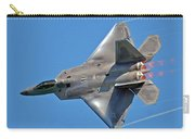 Fa 22 Raptor From Air Show Carry-all Pouch