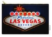 Fabulous Las Vegas Sign Carry-all Pouch