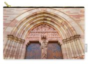Facade Church Of Obernai,alsace France 073540 Carry-all Pouch