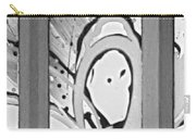 Face In Space B G Carry-all Pouch
