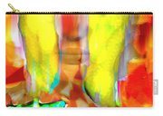 Face In The Flames Carry-all Pouch