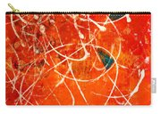 Face In The Mirror Abstract Painting Carry-all Pouch