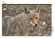 Face Of The American Coyote Carry-all Pouch