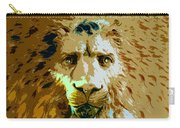 Face Of The Lion Carry-all Pouch