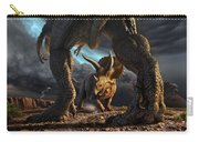 Face Off Carry-all Pouch by Jerry LoFaro