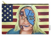 Face Paint And Freedom Carry-all Pouch