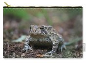 Face To Face With A Fowler Toad  Carry-all Pouch