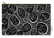 Faces In Stone Carry-all Pouch