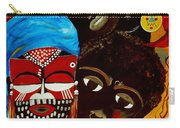 Faces Of Africa Carry-all Pouch