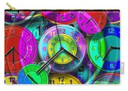 Faces Of Time 1 Carry-all Pouch