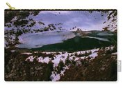 Facinating American Landscape   Snow Mountains Mini Lakes Winter Storms Welcome Trips To Nature Carry-all Pouch