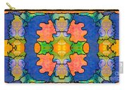 Facing Realities Abstract Hard Candy Art By Omashte Carry-all Pouch