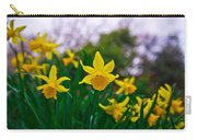 Daffodils Sky Carry-all Pouch