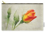 Faded Floral 9 Carry-all Pouch