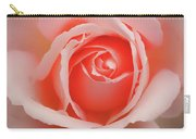 Faded - Perfect Pink Rose Carry-all Pouch