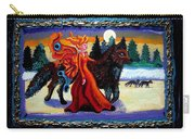 Faerie And Wolf Carry-all Pouch by Genevieve Esson
