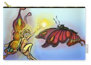 Faerie N Butterfly Carry-all Pouch