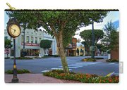 Fairhope Ave With Clock Carry-all Pouch