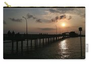 Fairhope Pier At Dusk Carry-all Pouch