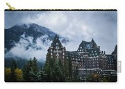 Fairmont Springs Hotel In Banff, Canada Carry-all Pouch
