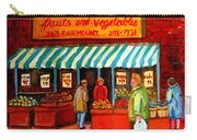 Fairmount Fruit And Vegetables Carry-all Pouch