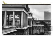 Fairmount Water Works In Black And White Carry-all Pouch