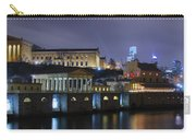 Fairmount Waterworks And Art Museum At Night Carry-all Pouch