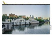 Fairmount Waterworks And Philadelphia Art Museum In The Morning Carry-all Pouch