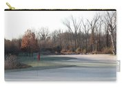 Fairway Hills - 7th - Beware Of The Tree And The Pond Panorama Carry-all Pouch