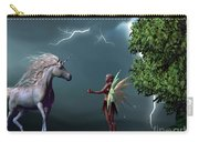 Fairy And Unicorn Carry-all Pouch