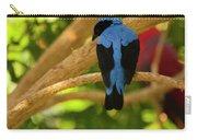 Fairy Bluebird Male Digital Oil  Carry-all Pouch