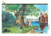 Fairy-tale Pushkin Lukomorye Carry-all Pouch
