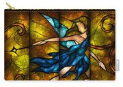 Fairy Tetraptych Carry-all Pouch by Mandie Manzano