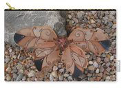 Fairy Wings- Brown Carry-all Pouch