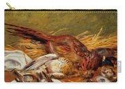 Faisans Canapetiere Et Grives 1902 Carry-all Pouch