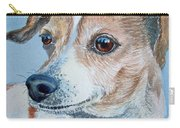 Beloved Dog Commission By Irina Sztukowski  Carry-all Pouch
