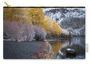 Fall And Winter At Silver Lake Carry-all Pouch
