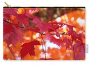 Fall Art Red Autumn Leaves Orange Fall Trees Baslee Troutman Carry-all Pouch