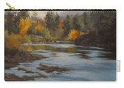 Fall At Colliding Rivers Carry-all Pouch