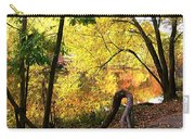 Fall At Lincoln Lake	 Carry-all Pouch