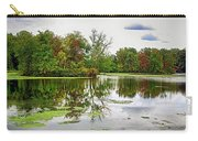Fall Begins At Unicorn Lake Carry-all Pouch