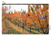 Fall Cherry Orchard Carry-all Pouch