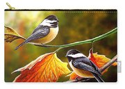 Fall Chickadees Carry-all Pouch