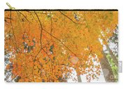 Fall Color Maple Leaves At The Forest In Aichi, Nagoya, Japan Carry-all Pouch