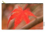 Fall Color Maple Leaves At The Forest In Kamakura, Kanagawa, Jap Carry-all Pouch