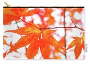 Fall Color Maple Leaves At The Forest In Kumamoto, Japan Carry-all Pouch