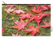 Fall Color Maple Leaves At The Forest In Nikko, Tochigi, Japan Carry-all Pouch