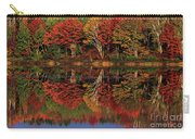 Fall Color Reflected In Thornton Lake Michigan Carry-all Pouch