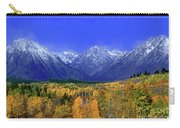 Fall Colored Aspens Grand Tetons Np Carry-all Pouch