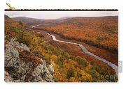 Fall Colors - Lake Of The Clouds Carry-all Pouch